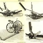 Forskellige høstmaskinemodeller